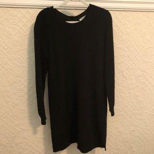 Black Madewell sweater dress